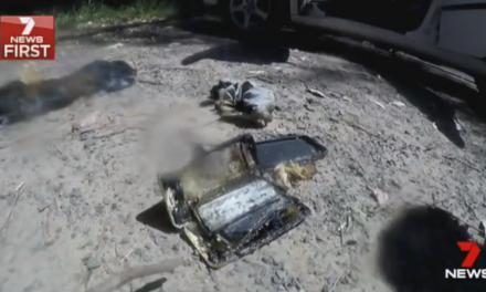 iPhone 7 ли е причината за повредена от пожар кола в Австралия?