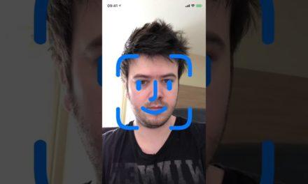 Видео показва как ще работи Face ID в новия iPhone X
